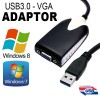 USB 3.0 to VGA Display Adapter Support up to 1920*1080