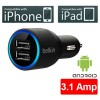 Belkin Dual Car Charger for Apple iPhone iPad