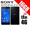 Sony Xperia Z3 D6653 LTE 4G 16GB Smart Phone Black