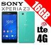 Sony Xperia Z3 D6653 LTE 4G 16GB Smart Phone Green