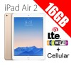 Apple iPad Air2 16GB 9.7inch Wifi+Cellular Tablet 4G LTE Gold