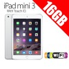 Apple iPad mini 3 With Touch ID 16GB WiFi Tablet Silver