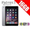 Apple iPad mini 3 With Touch ID 16GB WiFi Tablet Grey