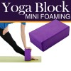 Mini Foaming Yoga Block Deep Purple Colour