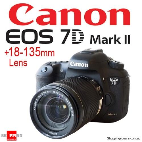 Canon EOS 7D Mark II with EF-S 18-135mm f/3.5-5.6 IS STM kit set