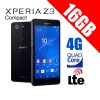 Sony Xperia Z3 Compat D5833 16GB 4G LTE Quad Core Smart Phone Black