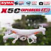 Syma X5C 2.4G 4CH RC Quadcopter Drone with 2MP HD Camera