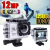 GoAction WiFi Full HD 1080P 12MP Waterproof Sports Action Camera Pro DV White Colour