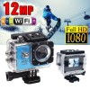 GoAction WiFi Full HD 1080P 12MP Waterproof Sports Action Camera Pro DV Blue Colour