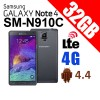 Samsung Galaxy Note 4 SM-N910C 32GB 4G LTE Smart Phone Black