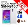 Samsung Galaxy Note 4 SM-N910C 32GB 4G LTE Smart Phone White