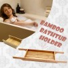 New Bamboo Bath Tub Caddy Holder Tray Holder