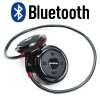 Mini Sport Bluetooth Wireless Stereo Headphone with Microphone Black Colour