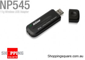 NETCOMM NP545 54MBPS Wireless USB Dongle Adapter Wi-Fi