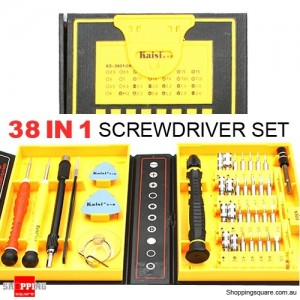 New 38 in 1 Multipurpose Precision Screwdriver Repair Tools Set for iPhone Samsung