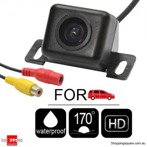 New HD 170° Waterproof Car Rear View Camera