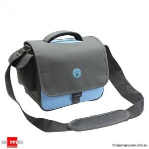 DSLR Camera Carry Bag Lens Case for Canon EOS Nikon Sony Olympus 1100D Blue Colour