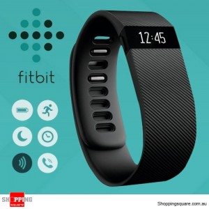 Fitbit Charge Activity + Sleep Wrist Monitor Small - Black