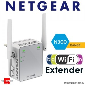 NETGEAR EX2700 N300 WiFi Range Extender - Essentials Edition