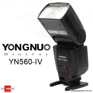 YONGNUO YN560-IV Wireless Flash Speedlite for Canon Nikon Camera