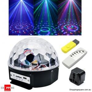 RGB LED MP3 Disco Home Party Crystal Magic Ball