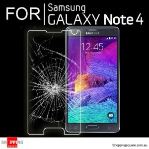 For Samsung Galaxy Note 4 Premium Real Tempered Glass Film Screen Protector