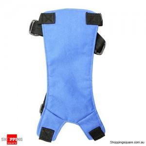 Adjustable Fit Car Vehicle Pet Dog Car Seat Safety Belt Harness Walking Medium Size Blue Colour