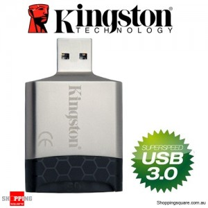 Kingston MobileLite G4 USB3.0 Multi-Function Card Reader SD MicroSD Card