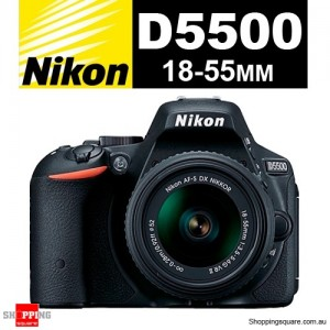 Nikon D5500 Kit 18-55MM VR II Lens Digital SLR Camera