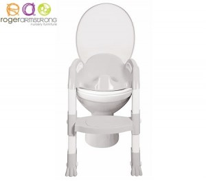 Kiddyloo Toilet Trainer with Step