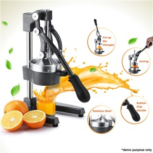 Manual Press Fruit Juice Extractor