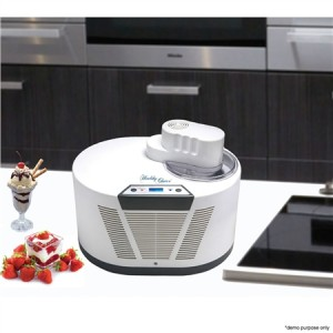 Instant Ice Cream Maker & Built In Compressor