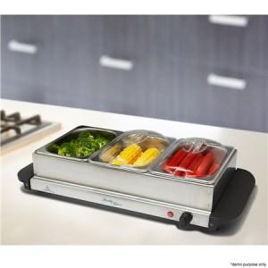 Stainless Steel Buffet Server / Food Warmer
