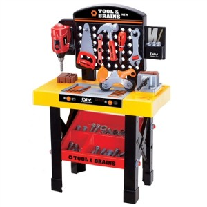 Children's DIY Workbench & Tools