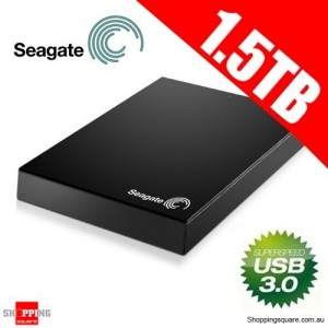 Seagate STBX1500401 1.5TB USB3.0 2.5 inch Expansion Portable External Hard Drive