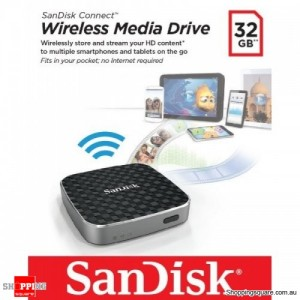 SanDisk Connect Wireless Media Drive 32GB SDWS1-032G