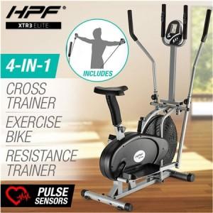 HPF 4 in 1 Cross Trainer / Elliptical Exercise Bike