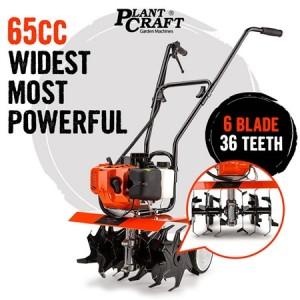 65cc Six Blade/36 Teeth Tiller