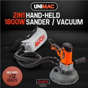 Unimac Drywall Sander with Automatic Vacuum System