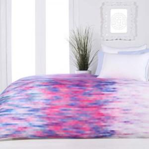 Queen Bed Pixel Quilt Cover Set