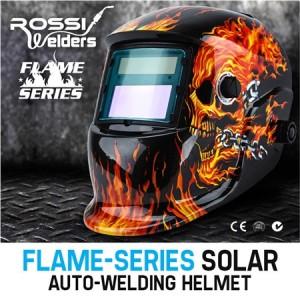 Flame Series Solar Auto Welding Helmet