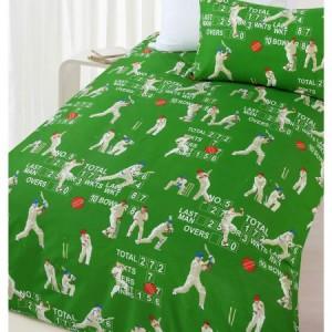 Queen Bed Cricket Quilt Cover Set