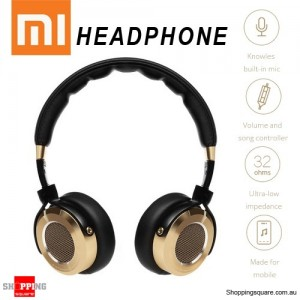 100% Genuine Xiaomi Mi Hi-Fi Headphones 50mm Driver Built-in Knowles MEMS Microphone