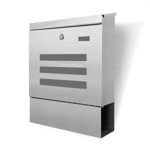 Letterbox Wall Mounted Mailbox 304 Stainless Steel