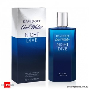 Cool Water Night Dive 125ml EDT By Davidoff For Men Perfume