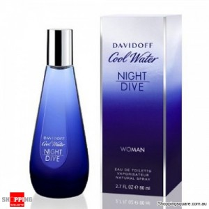 Cool Water Night Dive 80ml EDT by Davidoff For Women Perfume