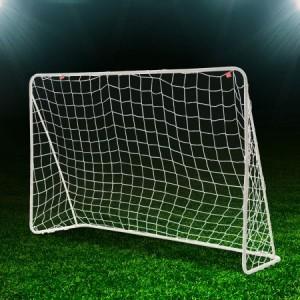 1.88 x 1.25 Metre White Soccer Goal
