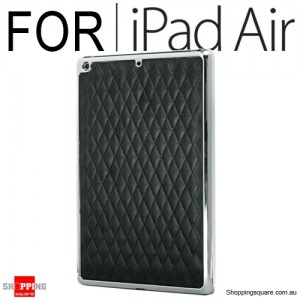 Zest Flair Cover Shell for iPad Air - Black