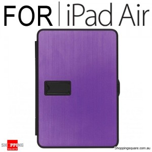 Zest Alumna Folio Style Case for iPad Air Purple
