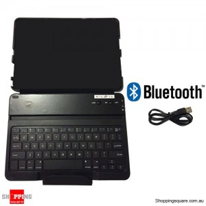 Zest Keys Folio Style Cover with Bluetooth Keyboard Black